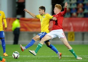 Brasil x Hungria Mundial sub-20 Andreas Pereira - AP (Foto: AP)