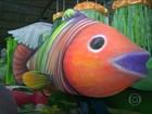 Cidades de fora do Rio recebem homenagens de escolas da Série A