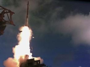 Foto sem data fornecida pelo ministério da defesa de Israel mostra teste de lançamento de míssil do sistema 'Estilingue de Davi' (Foto: AP Photo/Israel Ministry of Defense)