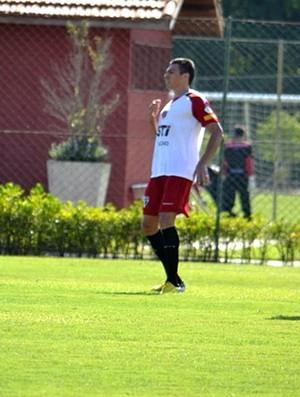 Lucio no treino do São Paulo (Foto: Divulgação / saopaulofc.net)