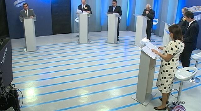 Debate entre os candidatos ao governo de Santa Catarina - Parte 4