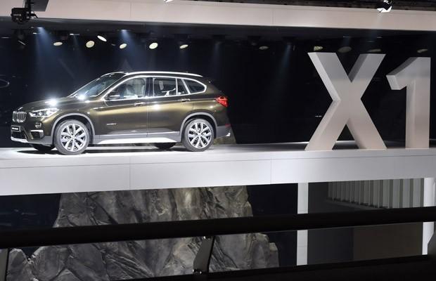 BMW X1 no Salão de Frankfurt (Foto: Kai Pfaffenbach/Reuters)