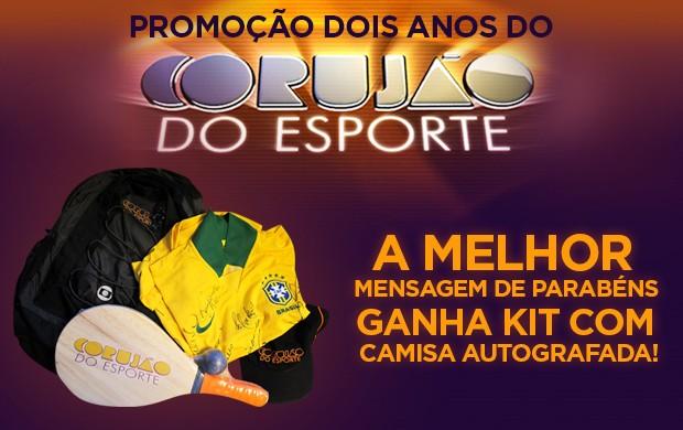 Promoção no Corujão do Esporte (Foto: Arte)