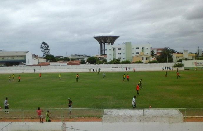 Petrolina vence jogo-treino contra o Juazeiro  (Foto: Página não oficial no Facebook do Petrolina Social Futebol Clube)