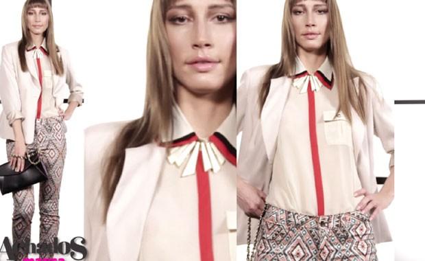 Achados Marisa por Marie Claire: monte dois looks diferentes com a calça estampada