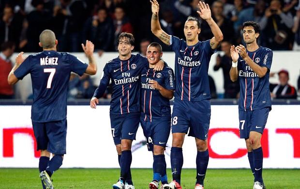 Ibrahimovic , Paris Saint Germain x Toulouse (Foto: Agência Reuters)