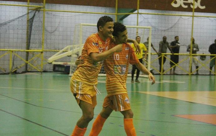 Iate x Bombeiros, Copa TV Grande rio de Futsal (Foto: Emerson Rocha)