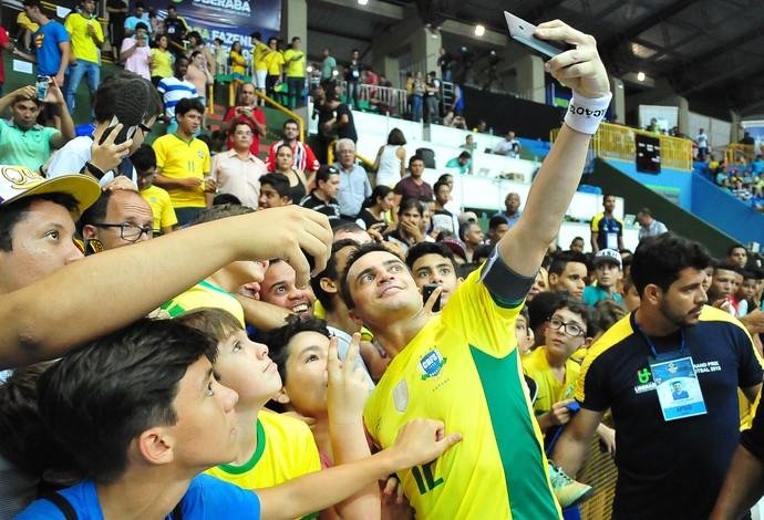 Falcão brasil zâmbia grand prix futsal (Foto: Ricardo Artifon/CBFS)