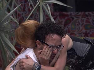 BBB às 00h34m do dia 19/01. (Foto: Big Brother Brasil)
