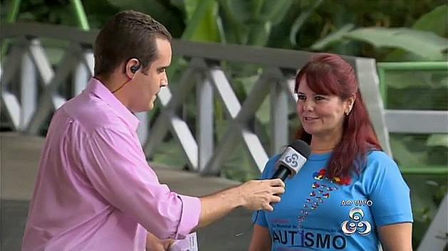 Dia Mundial da Conscientização do Autismo é comemorado, em Manaus (Foto: Bom Dia Amazônia)
