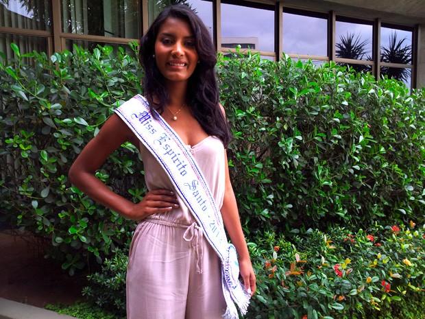 Miss Espírito Santo 2012 (Foto: Juirana Nobres/ G1 ES)