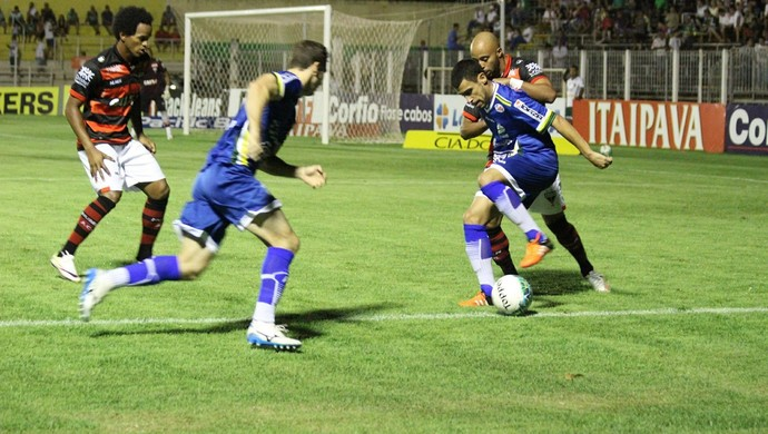 Luverdense x Atlético-GO (Foto: Luis Felipe Nischor/Luverdense EC)