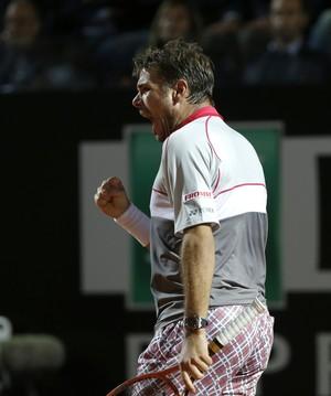 Wawrinka x Nadal, Masters 1000 de Roma (Foto: AP)