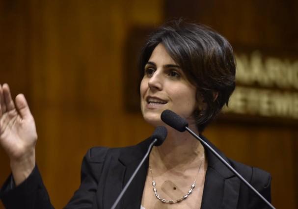 Manuela D'Ávila (Foto: Reprodução/Facebook)