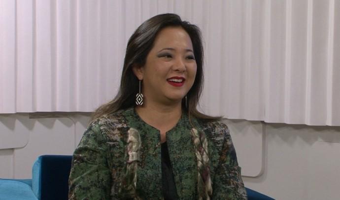 Marianne Nishihata falou sobre livro Amor entre Guerras (Foto: Reprodução / TV Diário )