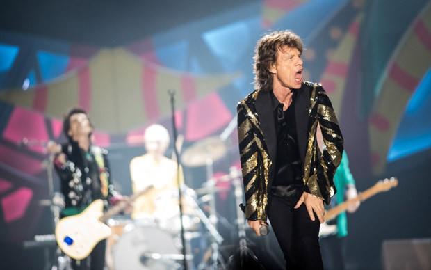 Segundo show dos Rolling Stones em São Paulo, no estádio do Morumbi (Foto: Fábio Tito/G1)