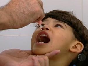 Campanha de Vacinação contra Paralisia Infantil é prorrogada no Estado  (Foto: Reprodução/TV Diário)
