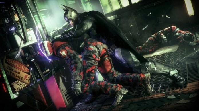 Batman dá uma aula de informática para um dos bandidos (Foto: Games Radar) (Foto: Batman dá uma aula de informática para um dos bandidos (Foto: Games Radar))
