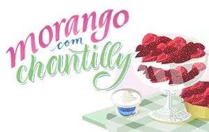 Morango com chantilly