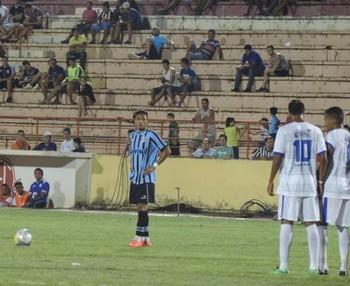 Confiança x Grêmio Copa São Paulo de Futebol Júnior (Foto: Marcos Lavezo)