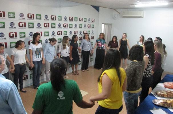 Colaboradoras da TV Clube falam das conquistas e necessidades das mulheres na sociedade. (Foto: André Santos/TV Clube)