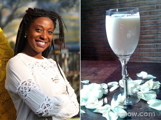 A Amância, de Meu Pedacinho de Chão, costuma preparar leite sem lactose (Foto: Acervo pessoal)