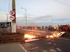 Alteração de trânsito provoca protesto em Cruz das Almas, em Maceió