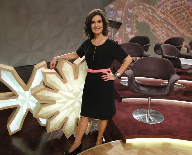 Look de Fátima Bernardes de terça-feira - 31-07-2012 (Foto: Encontro com Fátima Bernardes/TV Globo)