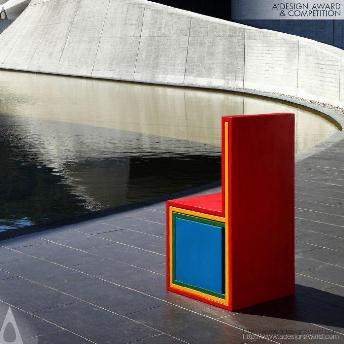 Cadeira multifuncional  (Foto: Yi-An Hung, Yestudio)