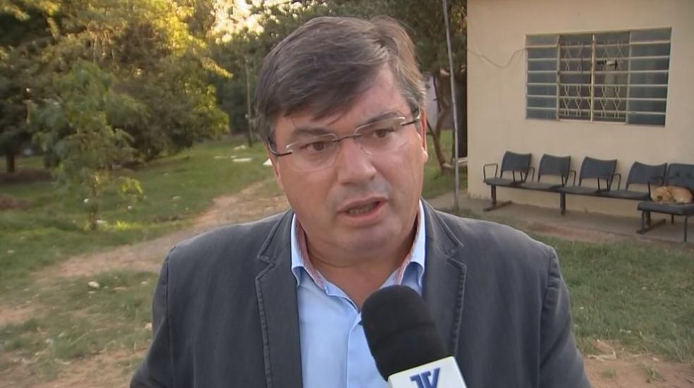 Daniel Alonso, prefeito de Marília, alega que alguma das ações já estavam no cronograma municipal (Foto: Reprodução / TV TEM)