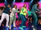Mayra Aguiar, bronze no judô, dança funk até o chão em show de Preta Gil