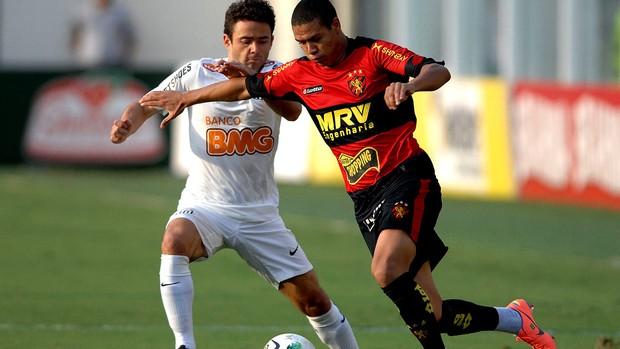Juan santos felipe azevedo sport brasileirão 2012 (Foto: Mauro Horita / Agência Estado)