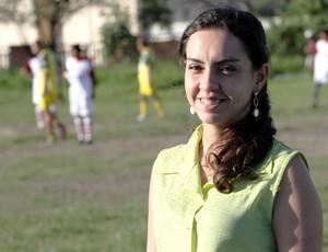 Khésia Suille, presidente do Sport Campina (Foto: Magnus Menezes / Jornal da Paraíba)