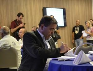 Presidente da FES, Marcus Vicente (Foto: João Brito/GloboEsporte.com)