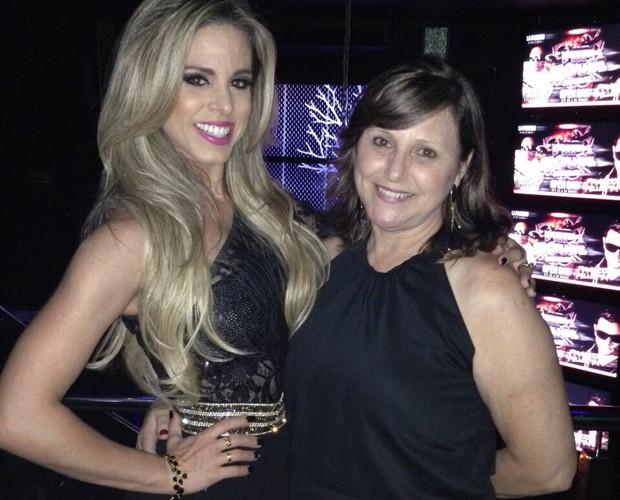 Raquel Guarini, bicampeã do Dança dos Famosos, é o orgulho da mamãe! (Foto: Arquivo Pessoal)