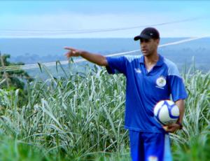 Joel Preisner treinador do Vila Aurora (Foto: Reprodução/TVCA)