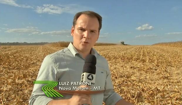 Repórter Luiz Patroni (Foto: Reprodução/TVCA)