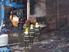 Incêndio atinge empresa em Betim
