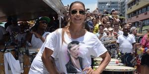 Ivete Sangalo e Brown encerram carnaval de Salvador com arrastão (Jefferson Peixoto/Agência Haack)