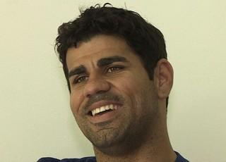 Diego Costa- entrevista (Foto: reprodução TV/Sergipe)