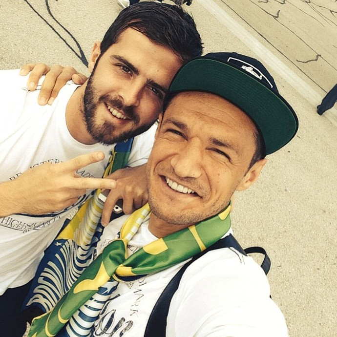 seleção da Bósnia (Foto: Reprodução / Instagram)