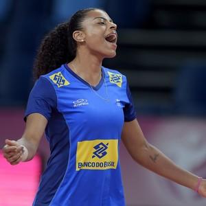 Fernanda Garay espera que a equipe aproveite os jogos para evoluir (Foto: Divulgação/CBV)