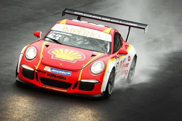 Porsche GT3 Cup do piloto Lico Kaesemodel. (Foto: Divulgação/Luca Bassani)