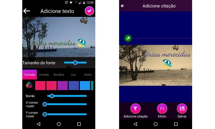 Apps Para Escrever Em Fotos Veja Opções Grátis Para Android