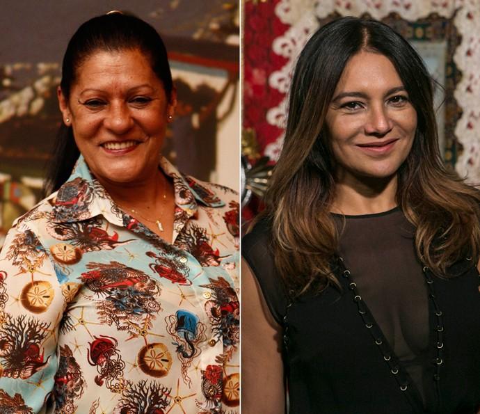 Dira Paes e Luci Pereira serão mãe e filha na segunda fase de 'Velho Chico' (Foto: Gshow)