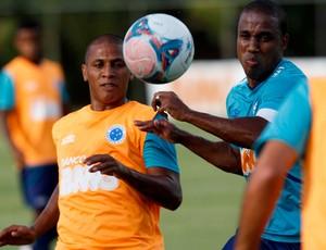 Borges treino Cruzeiro (Foto: Washington Alves / VIPCOMM)