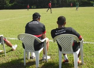 Moto Club vence jogo-treino no CT Pereira dos Santos (Foto: João Ricardo/Globoesporte.com)