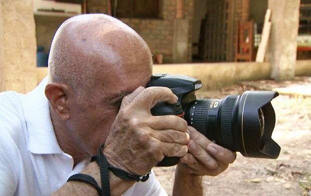 Fotógrafo relata experiências marcantes na carreira (Foto: Roraima TV)