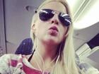 Após anunciar separação, ex-BBB Clara manda beijo em rede social