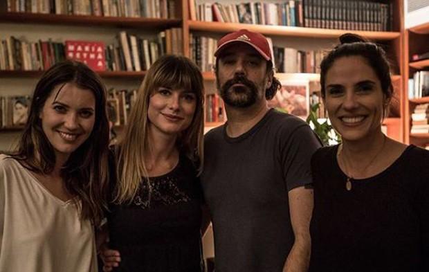 Nathalia Dill, Alinne Moraes, Mauro Lima e Rafaela Mandelli (Foto: Reprodução/Instagram)